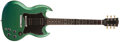 Musical Instruments:Electric Guitars, 2001 Gibson SG Inverness Green Electric Guitar, #O1501494....