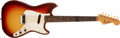 Musical Instruments:Electric Guitars, 1963 Fender Music Master Red Sunburst Guitar, #99159....