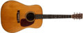Musical Instruments:Acoustic Guitars, 1953 Martin D-28 Natural Guitar, #130325....