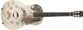 Musical Instruments:Resonator Guitars, 1933-34 National Style O Natural/Chrome Guitar, #S5492....