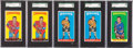 Hockey Cards:Lots, 1964-65 Topps Hockey SGC-Graded Collection (10). ...