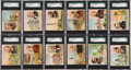 "Non-Sport Cards:Sets, 1887 N35 Allen & Ginter ""American Editors"" Complete Set (50) -#1 on the SGC Set Registry! ..."