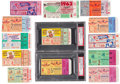 Baseball Collectibles:Tickets, 1953-64 Mickey Mantle World Series Home Run Ticket Stubs Lot of13....