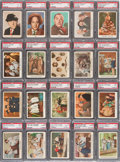 "Non-Sport Cards:Sets, 1959 Fleer ""Three-Stooges"" Complete Set (96) - # 15 on the PSA SetRegistry. ..."