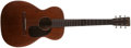 Musical Instruments:Acoustic Guitars, 1934 Martin 0-17 Natural Acoustic Guitar, #57236....