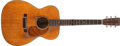 Musical Instruments:Acoustic Guitars, 1957 Martin 000-18 Natural Acoustic Guitar, #154143....