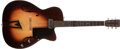 Musical Instruments:Electric Guitars, 1963 Martin F-50 Sunburst Electric Guitar, #187980....