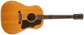 Musical Instruments:Acoustic Guitars, 1959 Gibson J-50 Natural Acoustic Guitar, #58949....