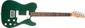 Musical Instruments:Electric Guitars, 1983 Fender Telecaster Elite Green Electric Guitar, #E312520....