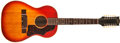 Musical Instruments:Acoustic Guitars, 1964 Gibson B-25-12 Sunburst Guitar, #155624....