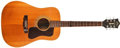Musical Instruments:Acoustic Guitars, 1974 Guild D-40 Natural Guitar, #107920....