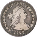 Early Half Dollars, 1796 50C 16 Stars Fine 12 PCGS Secure. O-102, High R.5....
