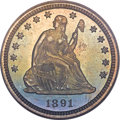 Proof Seated Quarters, 1891 25C PR67 PCGS....
