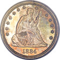 Proof Seated Quarters, 1884 25C PR66 PCGS....