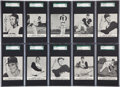 Baseball Cards:Sets, 1961 Kahn's Baseball Complete Set (43) With 96 Mint 9 Clemente - #1on the SGC Set Registry! ...