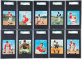 Baseball Cards:Sets, 1964 Kahn's Baseball Complete Set (31) - #1 on the SGC Set Registry!...