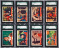 """Non-Sport Cards:Sets, 1958 Topps """"Robin Hood"""" SGC-Graded Collection (18). ..."""