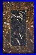 Lapidary Art:Tables / Tabletops, FOSSIL MARBLE TABLETOP. ...