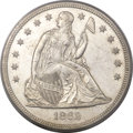 Seated Dollars, 1862 $1 MS62+ PCGS. CAC....