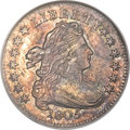 Early Dimes, 1805 10C 4 Berries MS62 NGC. JR-2, R.2....