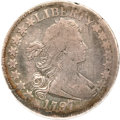 Early Half Dollars, 1797 50C --Scratched--NCS. Fine Details. O-102, Low R.6....
