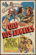 "Movie Posters:Western, Old Los Angeles (Republic, 1948). One Sheet (27"" X 41""). Western.. ..."
