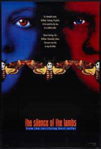 """The Silence of the Lambs (Orion, 1990). One Sheets (2) (27"""" X 40"""") DS Style B and SS Style C Advance. Thriller..."""