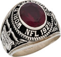 Football Collectibles:Others, 1960's Pottsville Maroons 1925 Championship Reunion Ring....