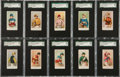 "Non-Sport Cards:Sets, 1910 E47 American Caramel ""Jockey Caramels"" Complete Set (20) - #1on the SGC Set Registry! ..."