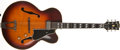 Musical Instruments:Electric Guitars, 1963 Gibson L7C Sunburst Guitar, #39217....