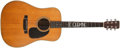 Musical Instruments:Acoustic Guitars, 1969 Martin D-28 Natural Guitar, #245667....