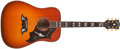 Musical Instruments:Acoustic Guitars, 1996 Gibson Dove Sunburst Guitar, #91096010....
