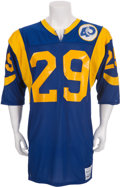 Football Collectibles:Uniforms, 1985 Eric Dickerson Game Worn Los Angeles Rams Jersey....