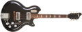 Musical Instruments:Electric Guitars, Late 1950s Supro Coronado Black Electric Guitar, #G16978....