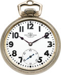 Timepieces:Pocket (post 1900), Ball Watch Co. Illinois 23 Jewel Official Standard, circa 1930's. ...