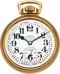 Timepieces:Pocket (post 1900), Illinois 23 Jewel 163A Elinvar Bunn Special, circa 1931. ...