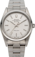 Timepieces:Wristwatch, Rolex Ref. 2140 Steel Oyster Perpetual Air King, circa 2005. ...
