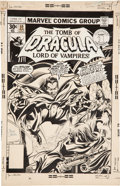 Original Comic Art:Covers, Gene Colan and Tom Palmer Tomb of Dracula #59 Cover OriginalArt (Marvel, 1977)....
