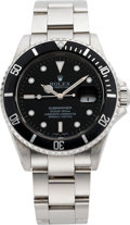 Timepieces:Wristwatch, Rolex Ref. 16610 Steel Submariner, circa 2001. ...