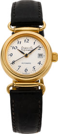 "Timepieces:Wristwatch, Auguste Reymond Lady's Gold ""Axxis"" Automatic Wristwatch, circa 2000. ..."