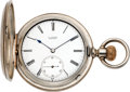 Timepieces:Pocket (pre 1900) , A. Lange First Quality Pocket Watch For Tiffany & Co., Union Square New York. ...