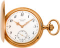 Timepieces:Pocket (post 1900), A. Lange & Sohne Fine 18k Gold Pocket Watch, circa 1902. ...
