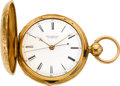 Timepieces:Pocket (pre 1900) , R. & G. Beesley Liverpool 18k Gold Doctor's Lever Fusee, circa1855. ...