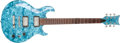Musical Instruments:Electric Guitars, Pearl River Sea Blue Pearloid Electric Guitar (no serialnumber)....