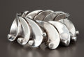 Silver Smalls:Other, A MEXICAN SILVER CUFF . Antonio Pineda, Taxco, Mexico, circa 1955.Marks: (Antonio crown), 970, HECHO EN MEXICO SILVER, Z...