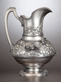 Silver Holloware, American:Pitchers, AN AMERICAN SILVER PITCHER . Tiffany & Co., New York, New York, circa 1870-1875. Marks: TIFFANY & CO., M, 2130, QUALITY, 9...