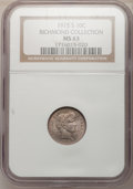Barber Dimes: , 1915-S 10C MS63 NGC. Ex:Richmond Collection. NGC Census: (15/64).PCGS Population (29/67). Mintage: 960,000. Numismedia Wsl...