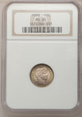Barber Dimes: , 1898 10C MS65 NGC. NGC Census: (64/28). PCGS Population (65/29).Mintage: 16,320,735. Numismedia Wsl. Price for problem fre...