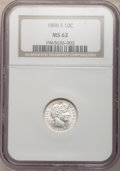 Barber Dimes: , 1898-S 10C MS62 NGC. NGC Census: (9/20). PCGS Population (9/36).Mintage: 1,702,507. Numismedia Wsl. Price for problem free...