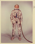 "Transportation:Space Exploration, Neil Armstrong Gemini Color Photograph, 8"" x 10"". Armstrong isdepicted in his Gemini 8 (1966) spacesuit. From the collect...(Total: 1 Item)"